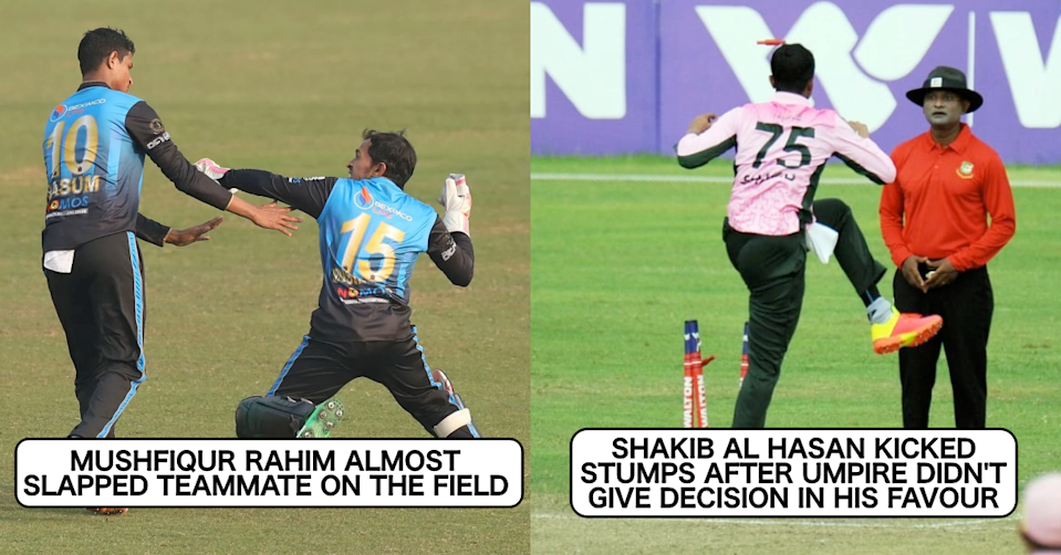 4 Instances When Bangladesh Players Showed Immaturity On The Field