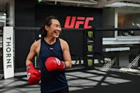 The UFC describes Yan as one of its up-and-coming stars