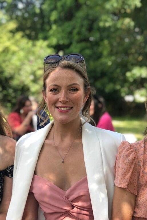 """<strong>Johanna Grace, 28, from Canterbury decided to pursue her dream of launching an </strong><a href=""""https://www.instagram.com/jo_grace_events/"""" rel=""""nofollow noopener"""" target=""""_blank"""" data-ylk=""""slk:events company"""" class=""""link rapid-noclick-resp""""><strong>events company</strong></a><strong> after taking voluntary redundancy from her job as a physics teacher. After her own wedding was postponed due to COVID she hopes to </strong><a href=""""https://www.jograceevents.com/"""" rel=""""nofollow noopener"""" target=""""_blank"""" data-ylk=""""slk:help other brides"""" class=""""link rapid-noclick-resp""""><strong>help other brides</strong></a><strong> to plan their dream days once social distancing permits.</strong><br><br>As a result of the pandemic, the boarding school that I worked at offered a voluntary <a href=""""https://www.refinery29.com/en-gb/money-diary-redundant-brighton-50k"""" rel=""""nofollow noopener"""" target=""""_blank"""" data-ylk=""""slk:redundancy package"""" class=""""link rapid-noclick-resp"""">redundancy package</a> to all staff. I'd been considering the idea of working for myself for a while, so the opportunity to use the redundancy pay to fund starting my own business seemed too good to turn down.<br>Starting an events business when social distancing has shut down the industry has definitely been incredibly challenging but after having my own <a href=""""https://www.refinery29.com/en-gb/eco-wedding-coronavirus"""" rel=""""nofollow noopener"""" target=""""_blank"""" data-ylk=""""slk:wedding"""" class=""""link rapid-noclick-resp"""">wedding</a> postponed, I suspected that there would be an influx of people hoping to get married in 2021 like me, and wanted to be able to help other couples achieve their dream day. <br><br>I'm currently working long hours and not earning much but I feel like I'm building a foundation for myself, which is exciting. My mum owned her own hair salon for years and she always used to tell me """"you are your business"""". That really resonated with me and so I've been focusing on building my brand and making a goo"""