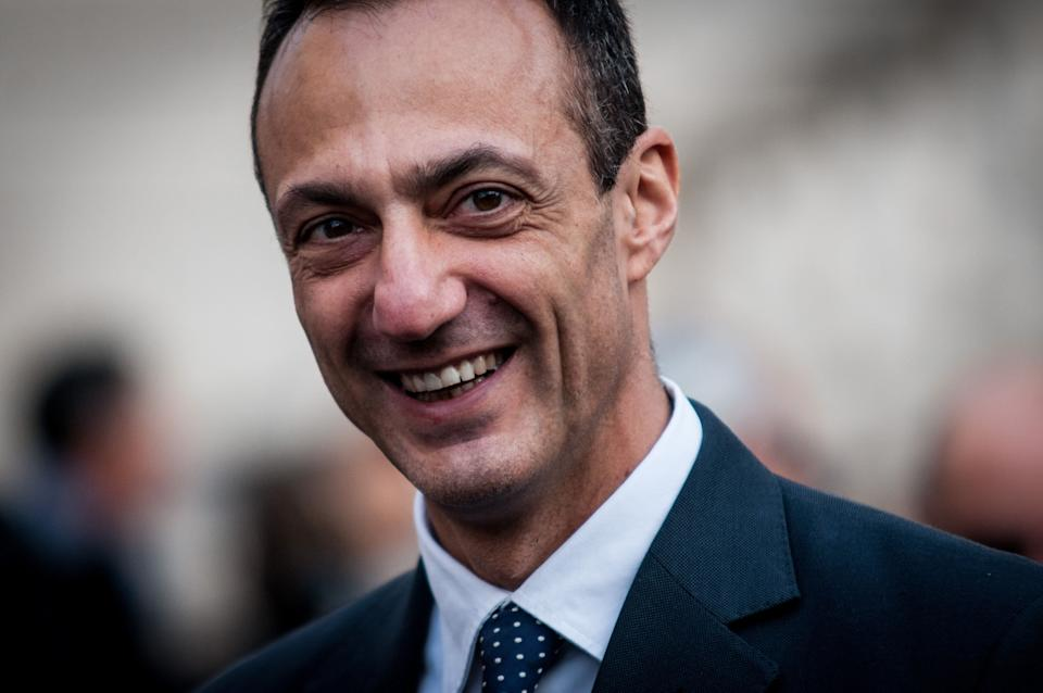 Marcello De Vito attends inauguration of the photographic exhibition 'Naked. Disability without adjectives' by Oliviero Toscani, promoted by the Italian Paralympic Committee. on December 03, 2019 in Piazza del Campidoglio.  Rome, Italy. (Photo by Andrea Ronchini/NurPhoto via Getty Images) (Photo: NurPhoto via Getty Images)