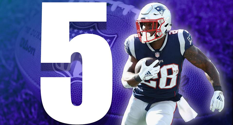 <p>Just 10 catches and 105 yards for Rob Gronkowski the past three weeks. That's usually a good day for him. Gronk hasn't fallen off, but it's clear teams won't let him beat them. (James White) </p>
