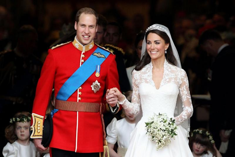 A guest says William was terrified before Kate arrived. Photo: Getty