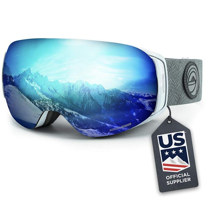 Wildhorn snow goggles come in adult and kid sizes (Photo: Amazon)