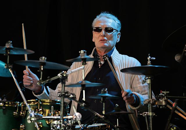 <strong>Peter &ldquo;Ginger&rdquo; Baker&nbsp;(1939-2019)</strong><br>The drummer was known for forming Cream with&nbsp;Eric Clapton&nbsp;in 1966, before going on to perform as part of Blind Faith and Ginger Baker&rsquo;s Air Force.&nbsp;