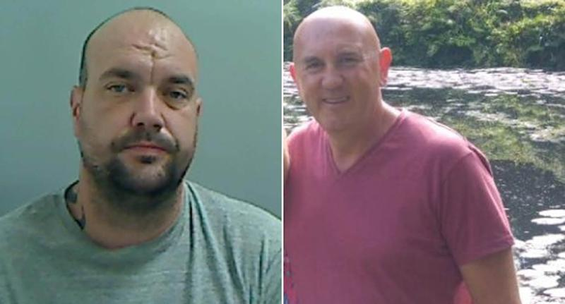 William Stallard, left, has been sentenced for causing Michael Waistell's death. (Reach)