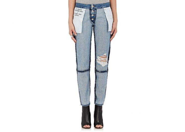 Inside out jeans
