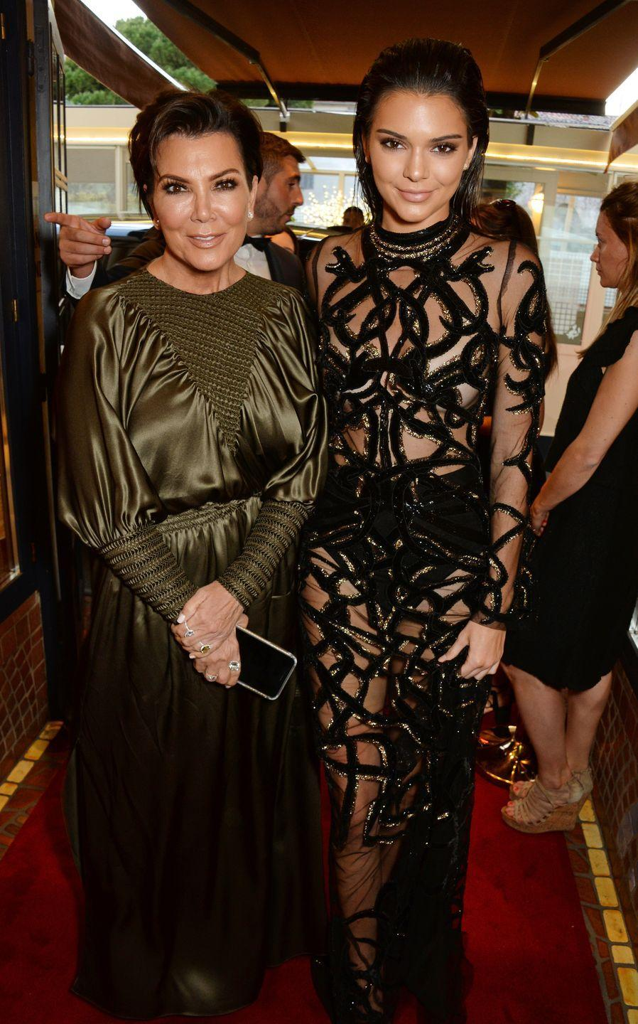 <p>I mean, obviously all the Kardashians look damn similar, but it's Kendall who looks most like her momager Kris.</p>
