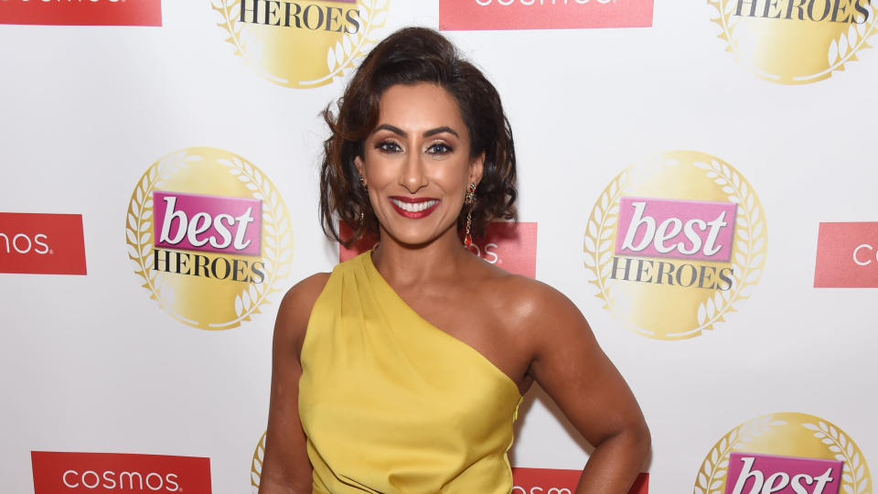 Saira Khan attends The Best Heroes Awards on October 15, 2019. (Photo by David M. Benett/Getty Images)
