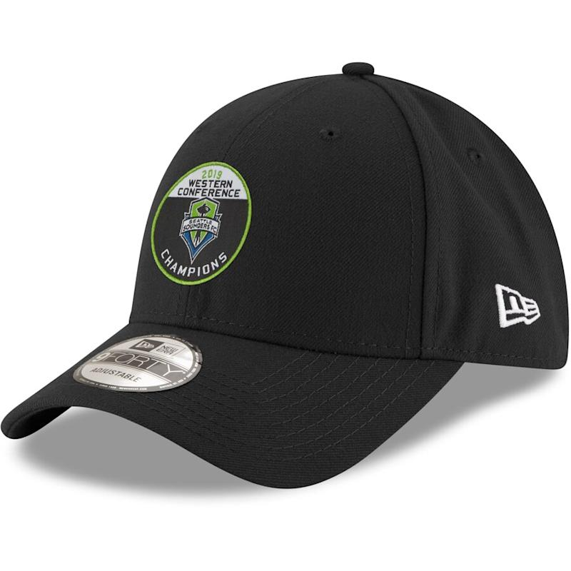 Sounders FC 2019 MLS Western Conference Champions Hat