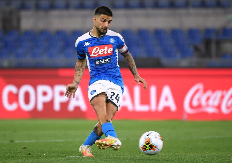 Napoli confirm Insigne injury ahead of Champions League tie at Barcelona