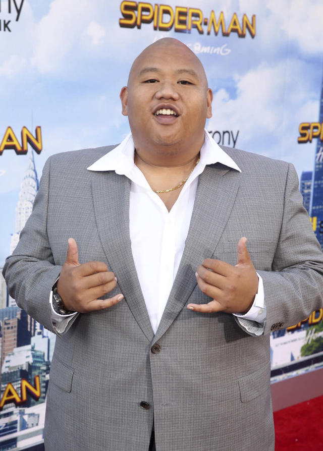 """<p>Spidey's sidekick steps into spotlight at the <a href=""""https://www.yahoo.com/movies/film/spider-man-homecoming"""" data-ylk=""""slk:Spider-Man: Homecoming"""" class=""""link rapid-noclick-resp""""><em>Spider-Man: Homecoming</em></a> premiere at TCL Chinese Theatre on June 28, 2017, in Hollywood. (Photo: Steve Cohn/Invision/AP Images) </p>"""