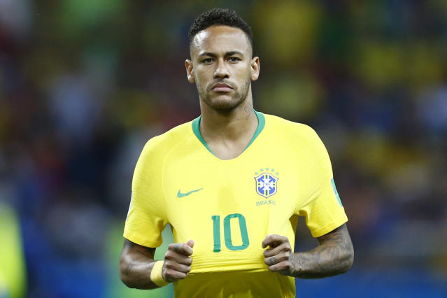 Neymar is in Brazil's squad for friendlies against the United States and El Salvador. (Getty)