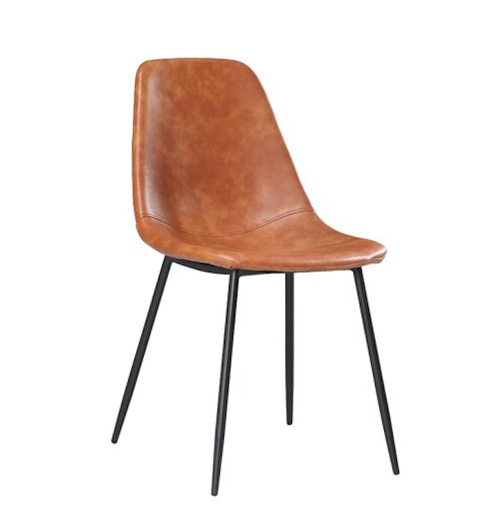 Amy Faux Leather Side Chair