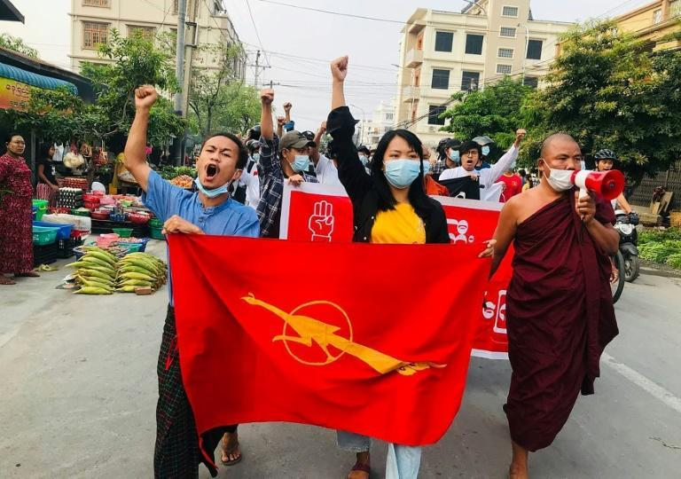 Despite the military using lethal force to quell demonstrations, people in Myanmar have continued to take to the streets to protest the coup