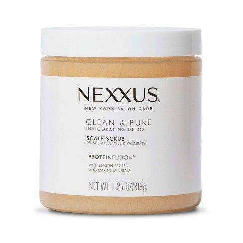 """<p><strong>Nexxus</strong></p><p>amazon.com</p><p><strong>$14.99</strong></p><p><a href=""""https://www.amazon.com/dp/B07MWJ9NN3?tag=syn-yahoo-20&ascsubtag=%5Bartid%7C10051.g.36740831%5Bsrc%7Cyahoo-us"""" rel=""""nofollow noopener"""" target=""""_blank"""" data-ylk=""""slk:Shop Now"""" class=""""link rapid-noclick-resp"""">Shop Now</a></p><p>If your scalp is itch-central, don't worry you don't have lice. But you might have build-up from all those products you've layered on and not properly cleansed off. This scrub will give your scalp the care it needs, while also giving some relief from that awful itchiness.</p>"""