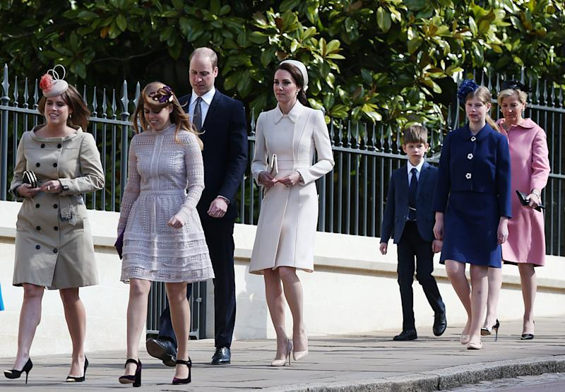 royal family easter sunday