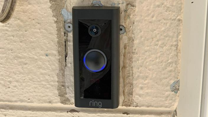 The new Ring Video Doorbell Wired is a great option to secure your front door on a budget.