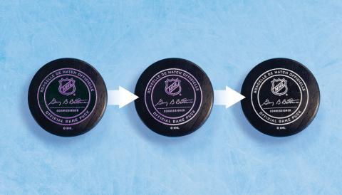 Ppg Provides National Hockey League With Thermochromic Puck Coatings