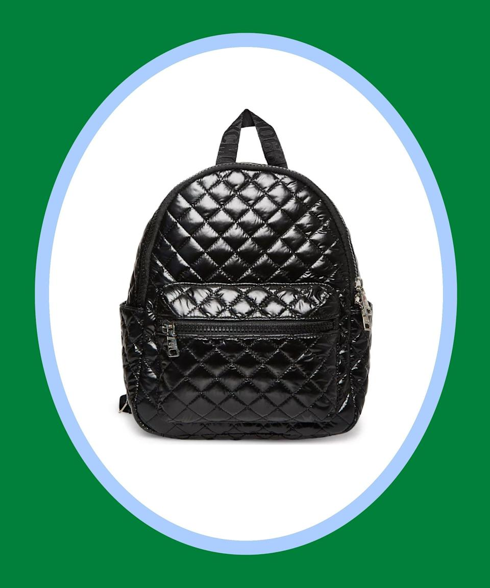 """<br><br><strong>Steve Madden</strong> Bwalton Medium Nylon Backpack, $, available at <a href=""""https://go.skimresources.com/?id=30283X879131&url=https%3A%2F%2Fwww.macys.com%2Fshop%2Fproduct%2Fsteve-madden-bwalton-medium-nylon-backpack%3FID%3D11974435%26CategoryID%3D26846"""" rel=""""nofollow noopener"""" target=""""_blank"""" data-ylk=""""slk:Macy's"""" class=""""link rapid-noclick-resp"""">Macy's</a>"""