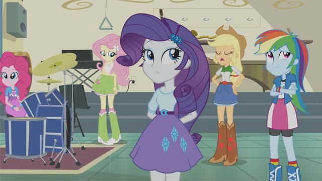 First Look: 'My Little Pony' Posse Goes Up Against a (Mean) Girl Group In 'Equestria Girls — Rainbow Rocks'