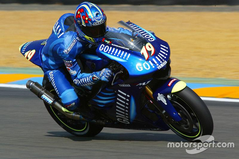 "2003. Olivier Jacque (MotoGP)<span class=""copyright"">Gold and Goose / Motorsport Images</span>"