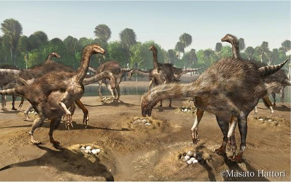 Nests of Big-Clawed Dinosaurs Found in Mongolia