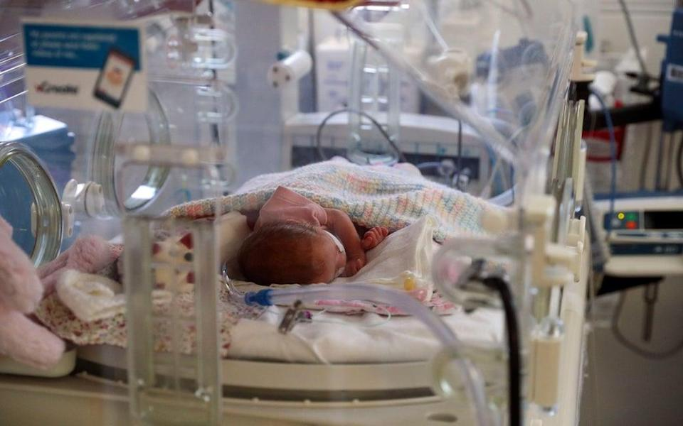 The study suggests tests could be developed to better predict when a baby is going to be born prematurely (Steve Parsons/PA) (PA Archive)