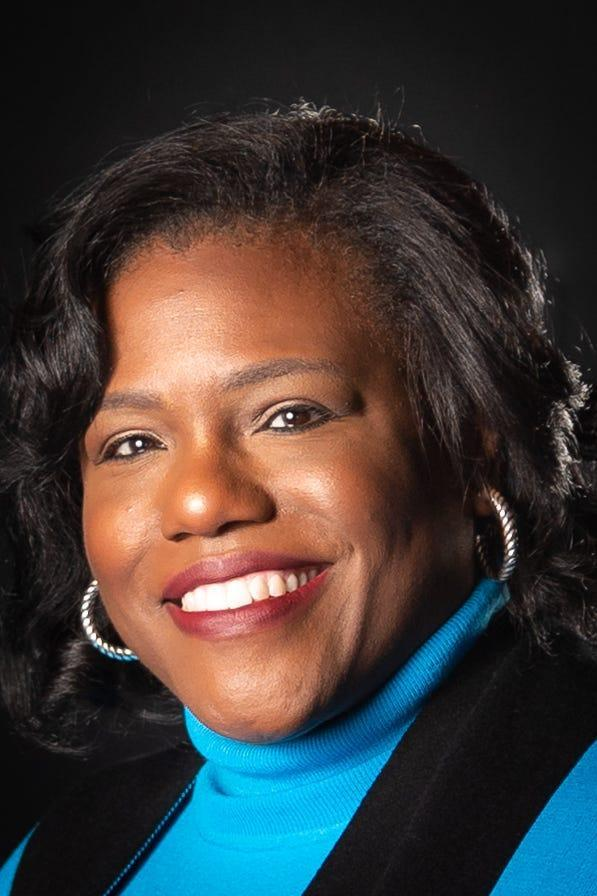 Teresa White, the president of Aflac U.S. and the first African American and woman to hold that position at the company.