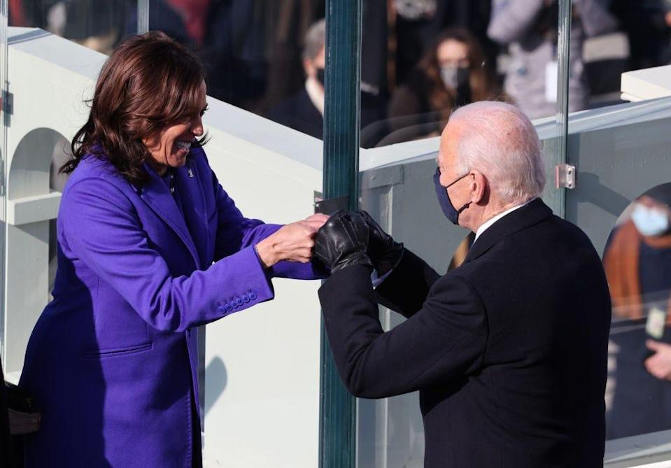 kamala harris Joe biden inauguration