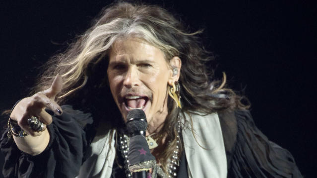 """Aerosmith has canceled a handful of upcoming performances, citing Steven Tyler's """"unexpected medical issues."""""""
