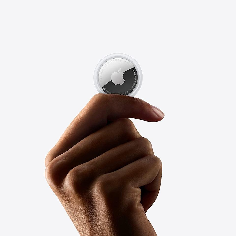 <p>If you constantly misplace or lose things, the <span>Apple AirTag</span> ($29 for 1, $99 for 4) might come in handy. A simple one-tap setup is all you need to do to keep track of your everyday items like keys, wallets, remotes, and more.</p>
