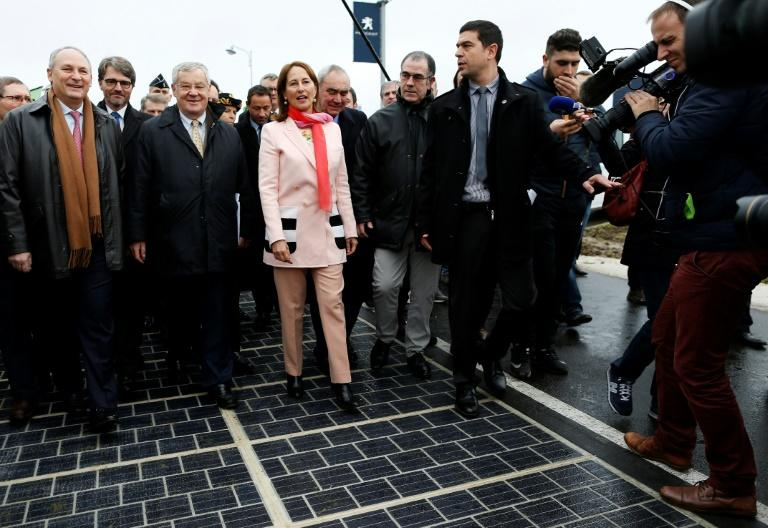 Then French environment minister Segolene Royal said in December 2016 that the country would develop a solar panel road network across the country despite criticism of its high cost