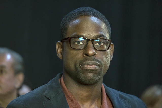 <p>Sterling K. Brown as Randall in NBC's <i>This Is Us</i>. <br><br>(Photo: Ron Batzdorff/NBC) </p>