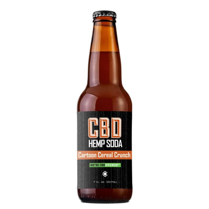 With fun flavors like Cartoon Cereal Crunch and Grape Limeade, this CBD-infused Hemp Sodamakes for chilldays. (Cannabinoid Creations, $28/4-pack)