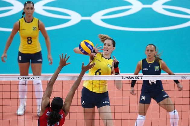 Olympics Day 3 - Volleyball