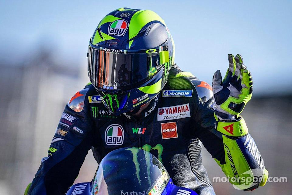 "Valentino Rossi, Yamaha Factory Racing <span class=""copyright"">Dorna Sports</span>"