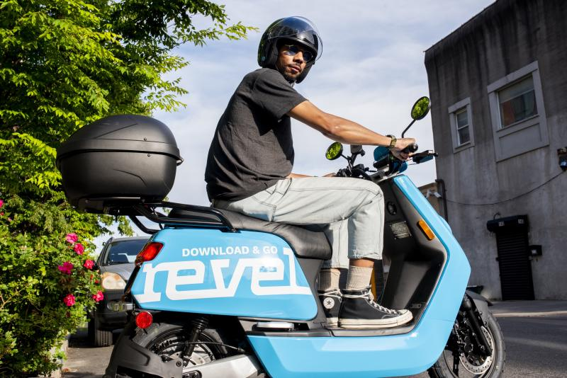 Revel moped San Francisco