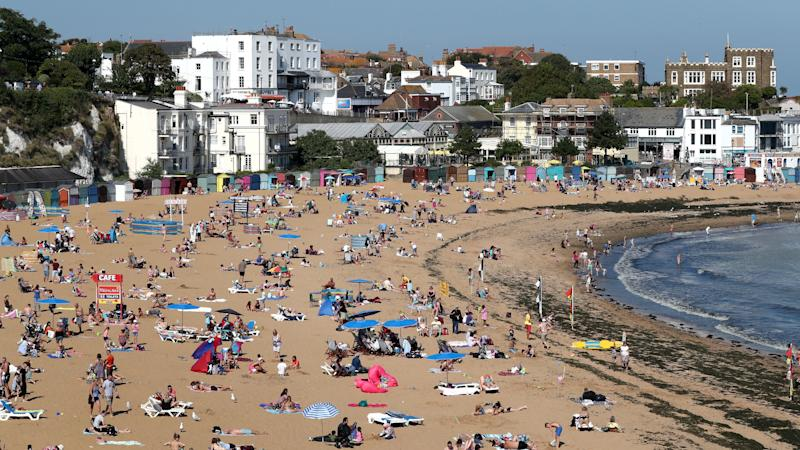 It's official: Easter Monday hottest ever recorded in UK