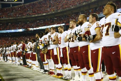 NFL wants players to stand for US anthem