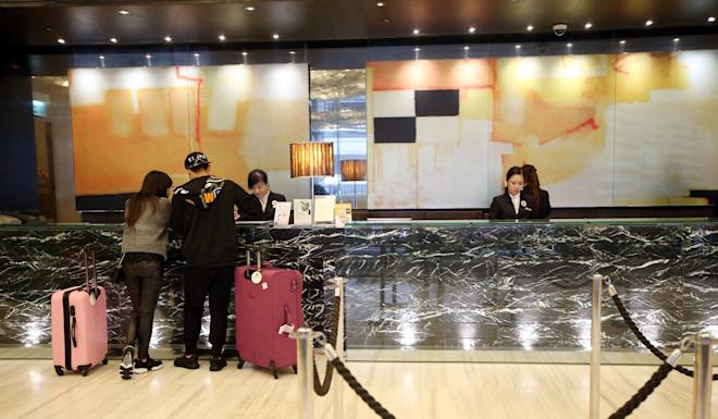 Hotels in Hong Kong may also suffer because of fresh rounds of tariffs in the US-China trade war. Photo: David Wong