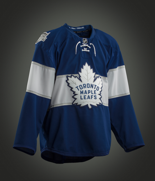 new style 9563a f80a0 Pass or Fail: Toronto Maple Leafs 2017 Centennial Classic jersey