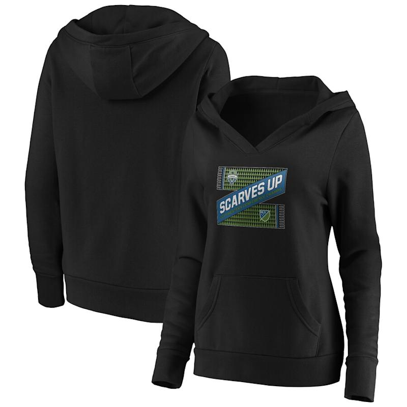 Women's Sounders FC 2019 MLS Western Conference Champions Pullover Hoodie