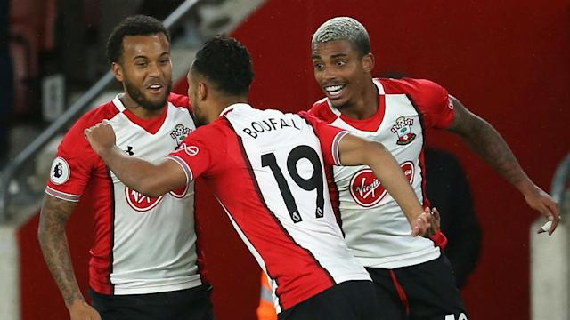 A brilliant solo goal from substitute Sofiane Boufal saw Southampton beat West Brom to record their first win in the last four attempts.