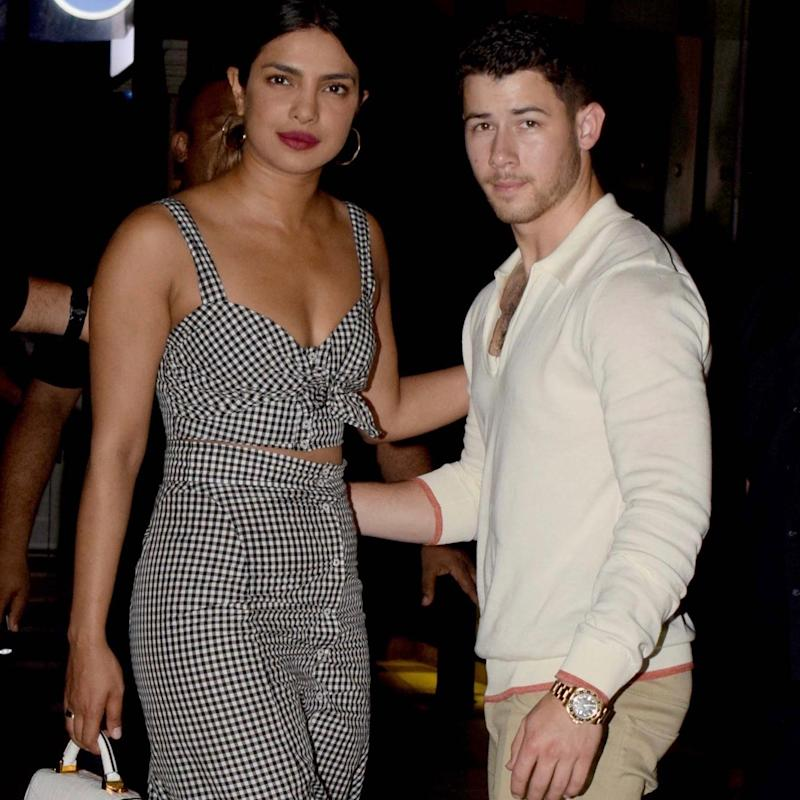 Priyanka Chopra and Nick Jonas do Coordinated Style for Date Night