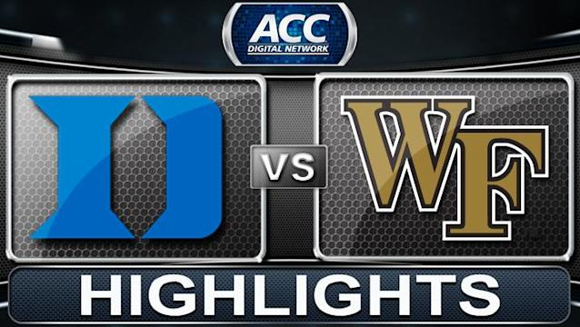 Duke bows out of race for last No. 1 seed with late collapse at Wake Forest
