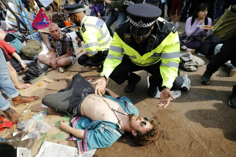 """""""We will probably go away for the summer, organise and learn from what's happened,"""" says protest organiser Stuart Basden (unseen)"""