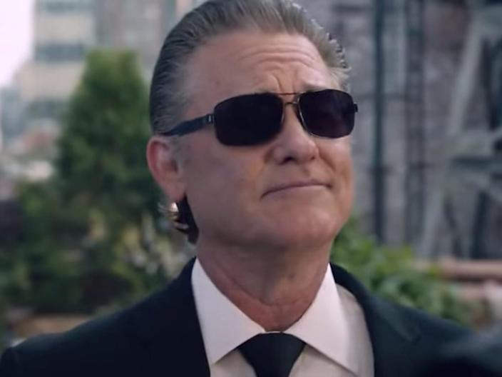 """Kurt Russell as Mr. Nobody in """"The Fate of the Furious."""""""