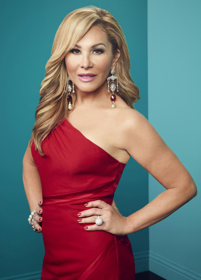 """Adrienne Maloof in """"The Real Housewives of Beverly Hills"""" Season 3."""