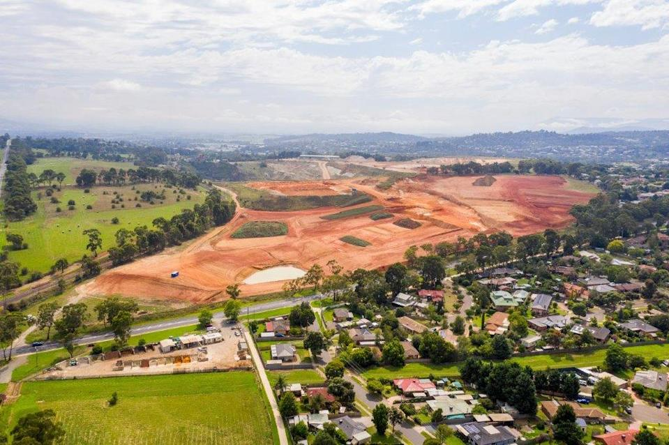 The Kinley site in Lilydale where the kangaroo cull has been approved. Source: Intrapac