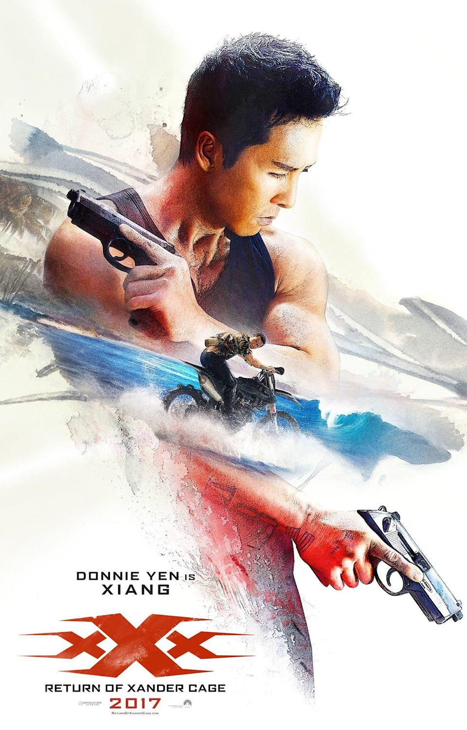 <p>Donnie Yen is Xiang – Credit: Paramount </p>